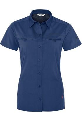 Vaude Wo Farley Kısa Kollu Kadın Gömlek 04571 / Sailor Blue