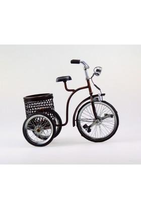 İkizler Dekoratif Bisiklet Sepetli