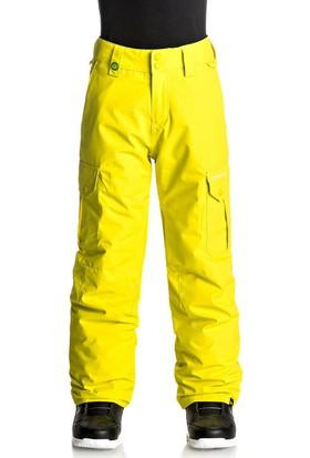 Quiksilver Porter Snow Çocuk Kayak ve Snowboard Pantolonu Sarı