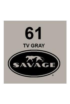 Savage (U.S.A) Stüdyo Kağıt Fon TV Gray 271x1100 cm