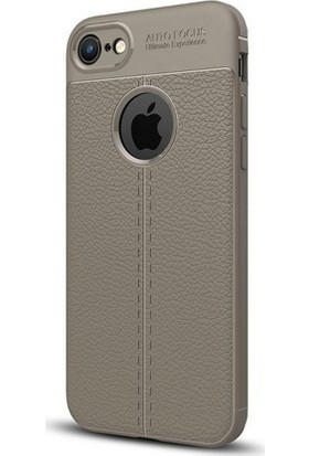 Case Man Apple iPhone 7 Silikon Kılıf Auto Focus Nisson + Ekran Bakım Kiti + Nano Cam