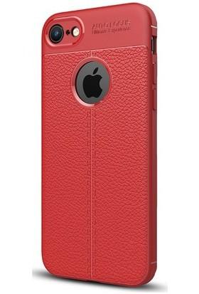 Case Man Apple iPhone 7 Plus Silikon Kılıf Auto Focus Nisson + Ekran Bakım Kiti + Nano Cam