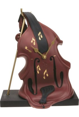 Antartidee Violin Masa Saati / Violin Table Clock