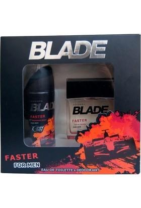Blade Faster Edt 100 Ml + Deodorant 150 Ml Erkek