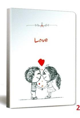Papernote Love 13*21 96 Yp. Çizgili Defter