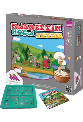 ZET Zeka Nasreddin Hoca Puzzle Zeka Oyunu