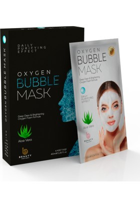 Oxygen Bubble Mask - Aloe Vera Özlü (40 Ml)