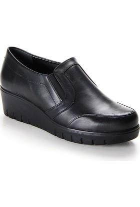 Shuflex Hakiki Deri Günlük Kadın Ayakkabı 1006Flxfw
