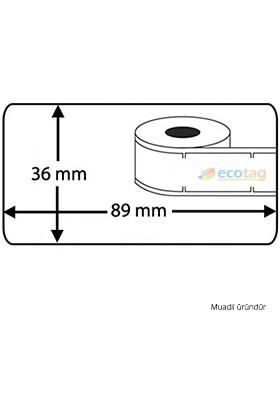 Dymo LW Adres Etiketi Muadili 89 mm x 36 mm 520 Adet S0722400