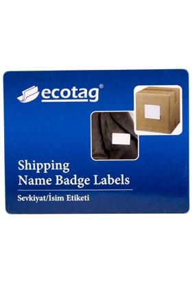 Ecotag Dymo Muadili Disket Etiketi 70 mm x 54 mm 320 Adet S0722440