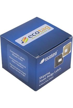 Ecotag Dymo Muadili Klasör Etiketi 190 mm x 59 mm 110 Adet S0722480