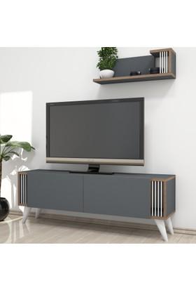 Minar Negro Tv Ünitesi - Antrasit