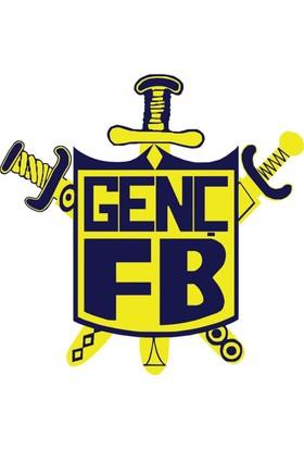 Genç Fenerbahçeliler Oto Sticker - 10x10 cm