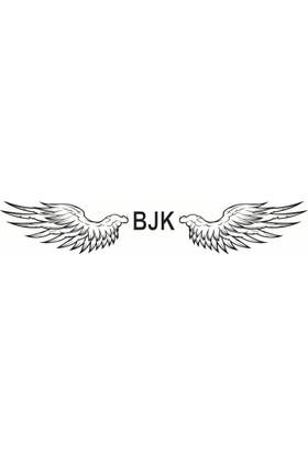 Beşiktaş Kartal Kanatları - Oto Sticker