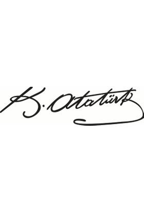 Atatürk İmza - Oto Sticker
