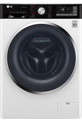 LG F4J8JHP2W A+++ 10.5 Kg Yıkama 7 Kg Kurutma Kapasiteli 1400 Devir Çamaşır Makinesi