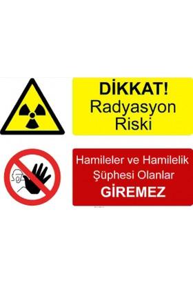 Tm 5007 - Dikkat Radyasyon Riski, Hamileler Ve Hamilelik Şüphesi