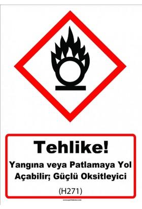 Ghs 1036 - Tehlike, Yangına Veya Patlamaya Yol Açabilir, Güçlü O