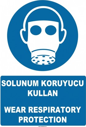 At 1358 - Solunum Koruyucu Kullan, Wear Respiratory Protection