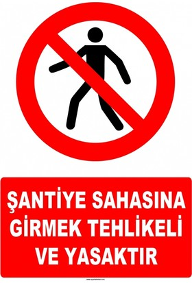 At 1407 - Şantiye Sahasına Girmek Tehlikeli Ve Yasaktır