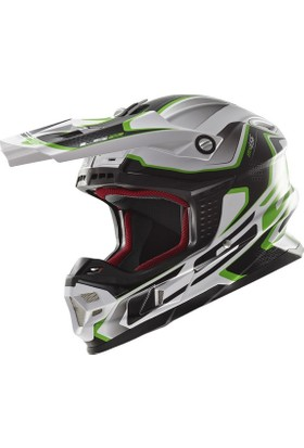 Ls2 Mx456 Compass Yesıl Kask