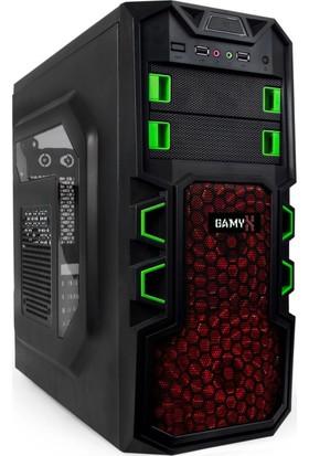 Gamyx GMX034 Intel Core i5 430M 8GB 500GB R7 240 Freedos Masaüstü Bilgisayar