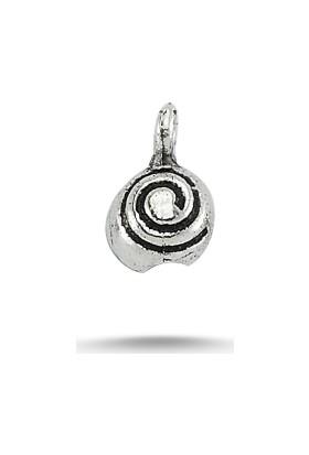Tevuli 925 Ayar Yarı Mamül Oksitli Küçük Gümüş Kapama Tt82231