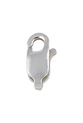 Tevuli 925 Ayar Yarı Mamül Gümüş Küçük Boy Gümüş Kilit Papağan Tt02063