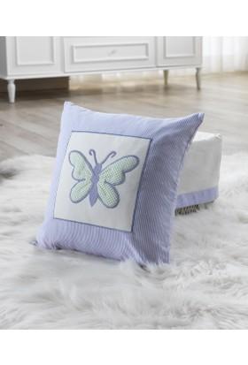 My Wish Butterfly Bebek Kare Yastık
