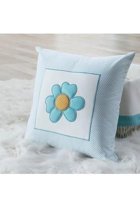 My Wish Flowers Bebek Kare Yastık
