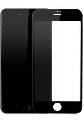 Sunix Emirtech Apple iPhone 6S 5D Kavisli Temperli Cam Full Ekran Koruyucu + Silikon Kılıf