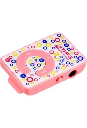 Platoon MP3 Player Renkli Desenli + 8 GB Hafıza Kartı + Platoon Lila Kulaklık
