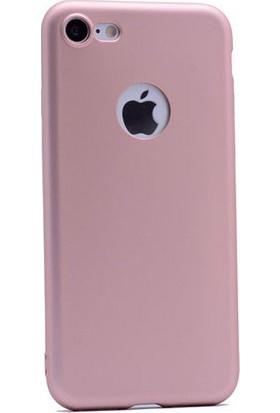 Sunix Emirtech Apple iPhone 7 Slim Fit Mat Silikon Kılıf + Tempered Cam Ekran Koruyucu