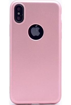 Sunix Emirtech Apple iPhone X Slim Fit Mat Silikon Kılıf + Tempered Cam Ekran Koruyucu