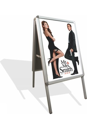 Smartad A Tipi Ayaklı Poster Pano 50 x 70 cm