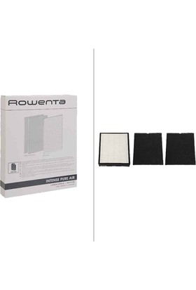 Rowenta Intense Pure Air Hepa Filtre + 2 Karbon Filtre XD6040f0