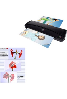 Olympia A230 PVC Makinesi + 100 Adet A4 80 Micron PVC Film