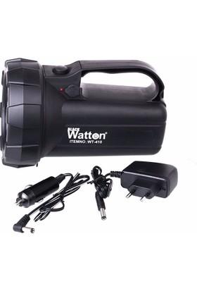 Blackwatton Wt-410 Şarj Edilebilir Ledli El Feneri