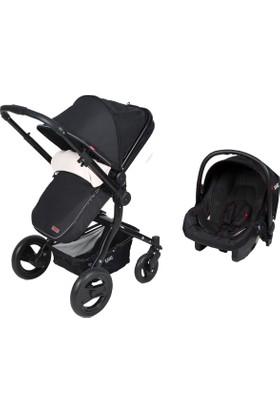 Kanz 4012 Proxima Travel Sistem Bebek Arabası - Siyah