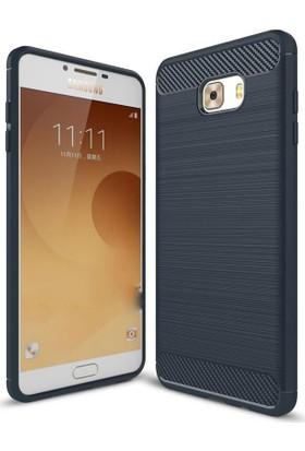 CoverZone Samsung Galaxy C7 Pro Kılıf Room Extreme Silikon + Cam