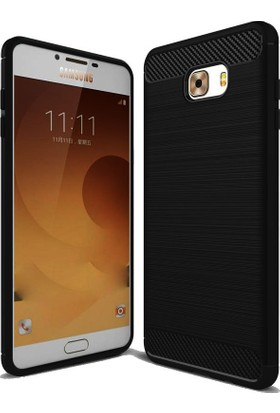 CoverZone Samsung Galaxy C7 Pro Kılıf Room Extreme Silikon