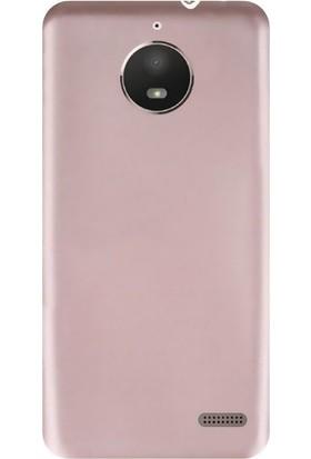 CoverZone Motorola Moto E4 Kılıf Silikon Soft Premier + Cam