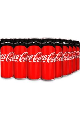 Coca-Cola Zero 250 ml Kutu 24'lü