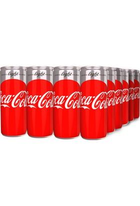 Coca-Cola Light 250 ml Kutu 24'lü