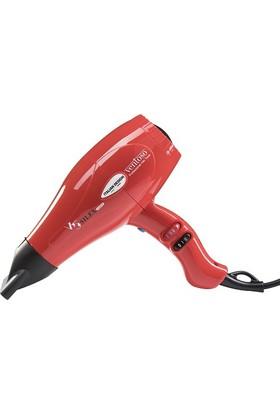Ventoso V5 Silex5000 Kırmızı Profesyonel Fön Makinesi
