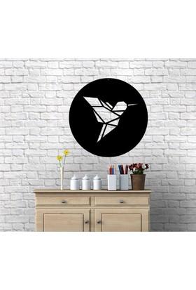 Homecept Kuş Figürlü Geometrik Duvar Tablosu