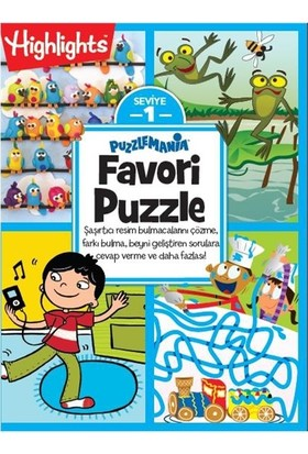 Highlights Favori Puzzle 4'lü Set
