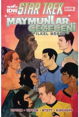 Star Trek Maymunlar Gezegeni Kapak D