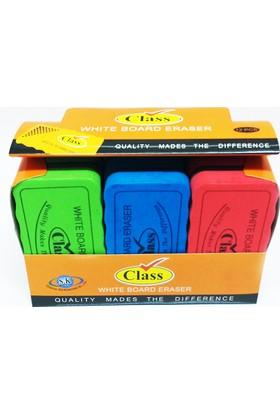 Class Mıknatıslı Tahta Silgisi 12'li Paket