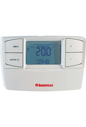 Immergas Car V2 Modülasyonlu Kablolu Oda Termostatı-3.021699
